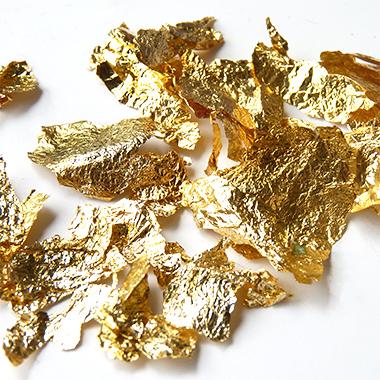 feuille d'or bijoux éthique