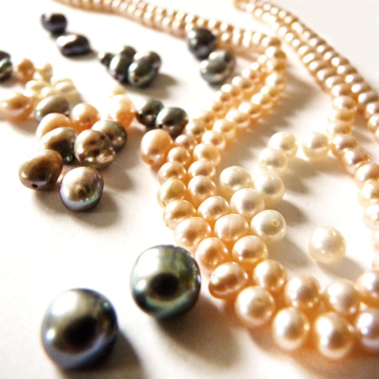 Perles de culture fine bijoux de créateur nature éthique